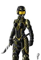 yellow ranger by Know-Kname