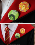 Support Cedric/Potter stinks pins by IVDP