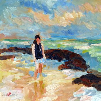 Beach Walk by Art-deWhill