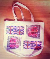 London Life - Custom Large Canvas Shoulderbag by anonymousnekodos