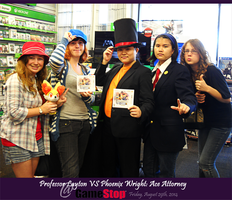 PLvsAA Game Release Meetup at GameStop by KatyMerry