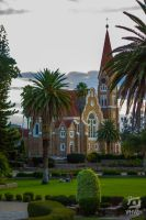 Church in park view by YAHWEH-Photo