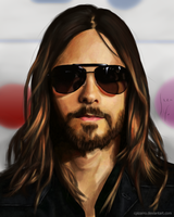 Digital Drawing - Jared Leto by CPizarro