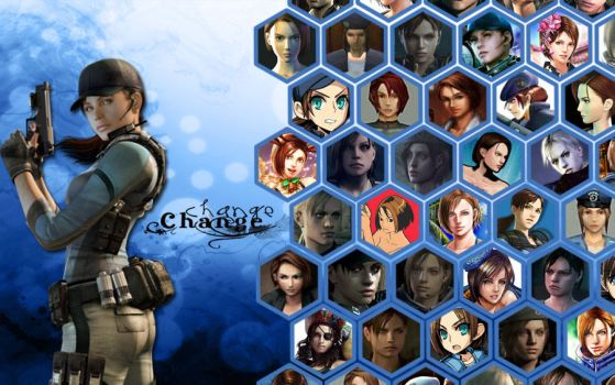 Change-Jill Valentine by Isobel-Theroux