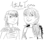 .: Iona and Astrid - HTTYD:. by MishkaBonnefoy