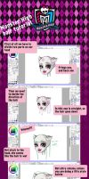 Monster High Hair tutorial by Airinreika