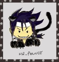Chibi - Raiden Mr.Pounce by talespirit