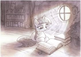Enlightenment Sketch by sherwoodwhisper