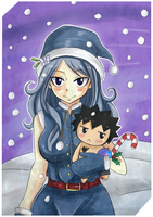 Merry Christmas Juvia! by Karola2712