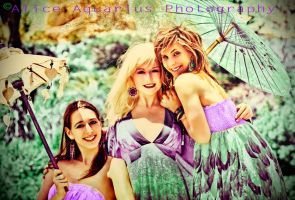 Mermaids that are Green and Purple by Missprecioussuicide