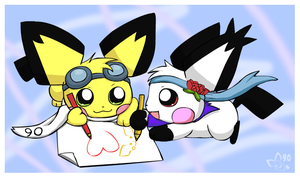 Collabing by pichu90