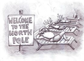 Welcome To The North Pole by twistedstairs