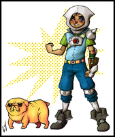 Finn and Jake by Deserea-Q