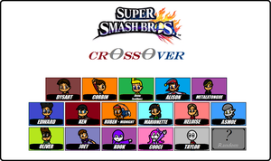 Super Smash Bros. Crossover Roster [Proccess ... ] by Dysartist