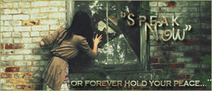 ''Speak now or forever hold you peace'' by AliceShionji