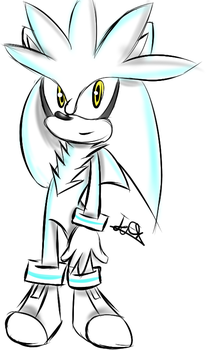 Silver the hedgehog by jefryx