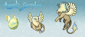 Squiby - Angelic Gryphon by Chimajra