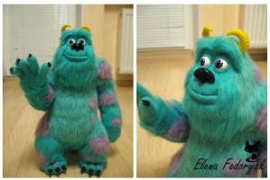 Sulley, 'Monsters, Inc.' by KittenBlackUA
