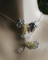 Secret of Vineyard Pendant by Bodza