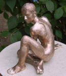 Keeping Watch - unfinished bronze 1 by DonIon