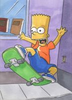PSC - Bart Simpson by The-Real-NComics