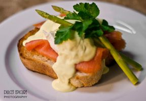 Egg Benedict w: Atlantic Salmon by DulcetEpicure