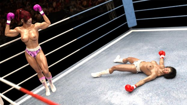 Quan Khanh vs. Melly Parker 2 by AFCombat by 5aq
