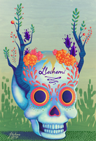 Sugar Skull by llechemi