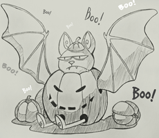 Little angry bat :3 by Mayolika-Das
