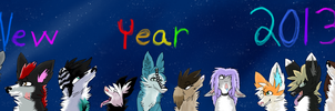 Happy New Year 2013 by Yokkyena