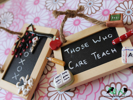 Chalkboard Magnets by SugiAi