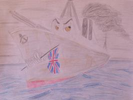 PRIDE FOR THE HOME-COUNTRY by RMS-OLYMPIC