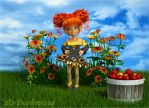 I'm a Flower Too! by 3DFunhouse