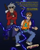 Bladevash and The Lightening by SouthtownExpress