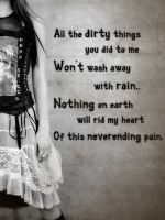 Neverending pain... by suicidesheep