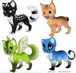 Kitty Adoptables 1 by Kitty-Shelter