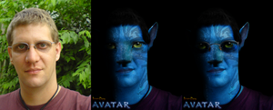 Na'vi Face of a Friend 3 by HarrisonOdell