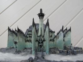 Minas Morgul, wooden model by LePtitSuisse1912