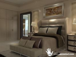 classic master bedroom view 2 by yoel-touch