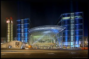 Berlin Central Station by stg123