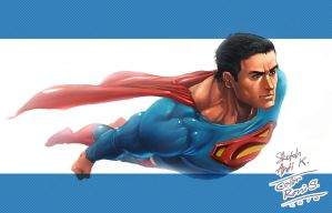 superman by 2d-artist