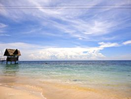Midway White Beach by ustar2-photography