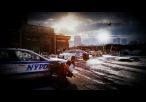Tom Clancy's The Division - Police Station by GarySanderson