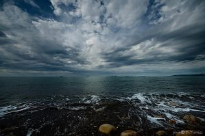 Sea and clouds 11 by rebelblues