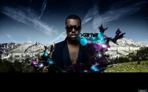 Kanye West Wallpaper by Xeins