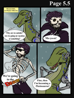 Plan B: Issue 1: Page 5.5 by PhantasmicDream