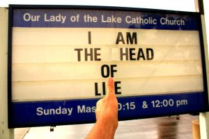 The Church is the Head of Lie? by KeswickPinhead