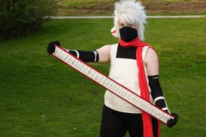 ANBU Kakashi shoot 2 by KashiRuka