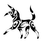 Umbreon Tribal COMMISSION by Canyx