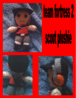 team fortress 2 scout plushie by Jack-O-AllTrades